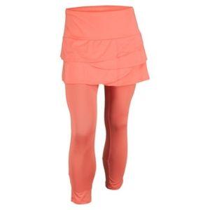 Lucky in Love Scallop Skirt Capri Leggings